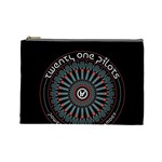Twenty One Pilots Cosmetic Bag (Large)  Front