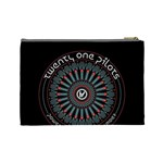 Twenty One Pilots Cosmetic Bag (Large)  Back