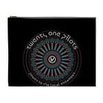 Twenty One Pilots Cosmetic Bag (XL) Front