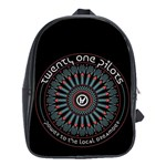 Twenty One Pilots School Bags(Large)  Front