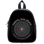 Twenty One Pilots School Bags (Small)  Front