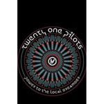 Twenty One Pilots 5.5  x 8.5  Notebooks Back Cover