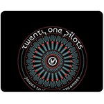 Twenty One Pilots Fleece Blanket (Medium)  60 x50 Blanket Front