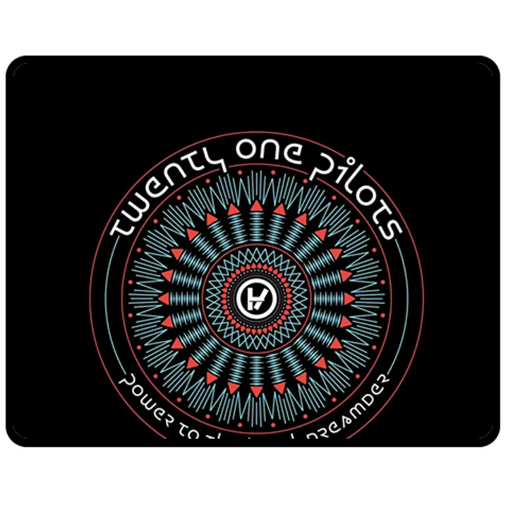 Twenty One Pilots Fleece Blanket (Medium)