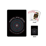 Twenty One Pilots Playing Cards (Mini)  Back