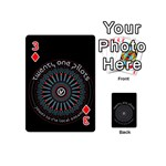 Twenty One Pilots Playing Cards 54 (Mini)  Front - Diamond3