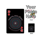 Twenty One Pilots Playing Cards 54 (Mini)  Front - Diamond10