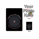 Twenty One Pilots Playing Cards 54 (Mini)  Back