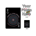 Twenty One Pilots Playing Cards 54 (Mini)  Front - Spade9