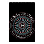 Twenty One Pilots Shower Curtain 48  x 72  (Small)  42.18 x64.8 Curtain