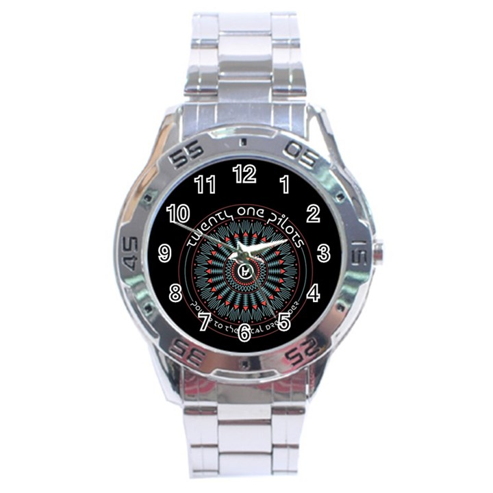 Twenty One Pilots Stainless Steel Analogue Watch