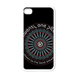 Twenty One Pilots Apple iPhone 4 Case (White) Front