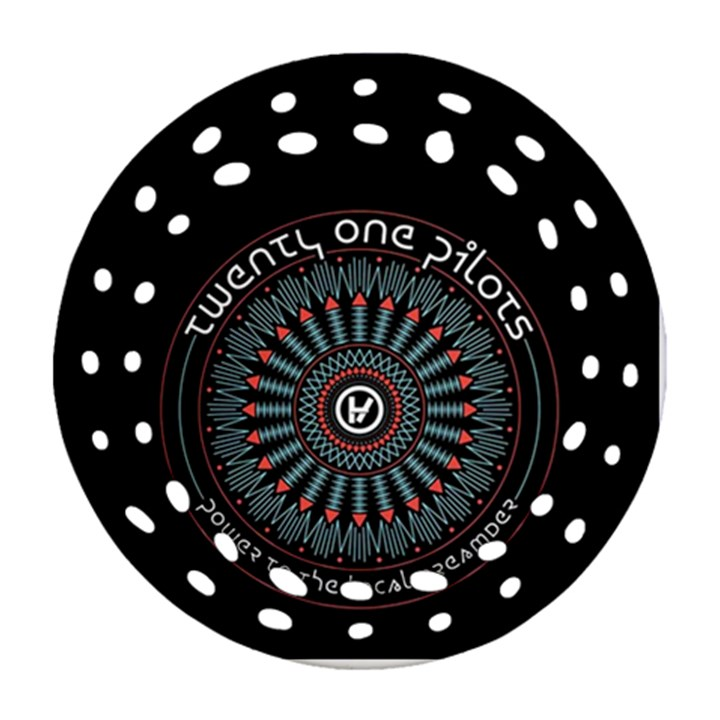 Twenty One Pilots Ornament (Round Filigree)