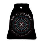 Twenty One Pilots Bell Ornament (2 Sides) Back