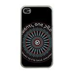 Twenty One Pilots Apple iPhone 4 Case (Clear) Front