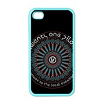 Twenty One Pilots Apple iPhone 4 Case (Color) Front