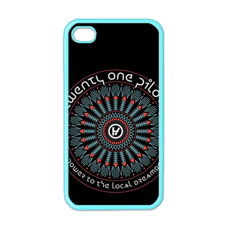 Twenty One Pilots Apple iPhone 4 Case (Color)