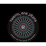 Twenty One Pilots Deluxe Canvas 14  x 11  14  x 11  x 1.5  Stretched Canvas