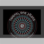 Twenty One Pilots Deluxe Canvas 18  x 12   18  x 12  x 1.5  Stretched Canvas