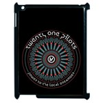 Twenty One Pilots Apple iPad 2 Case (Black) Front