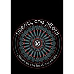 Twenty One Pilots Heart Bottom 3D Greeting Card (7x5) Inside