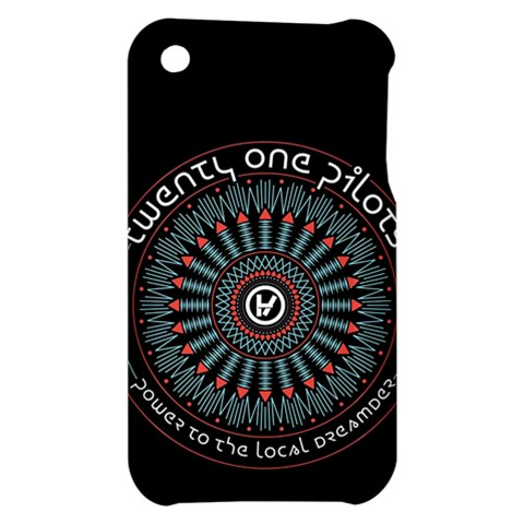 Twenty One Pilots Apple iPhone 3G/3GS Hardshell Case