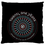 Twenty One Pilots Large Cushion Case (Two Sides) Back