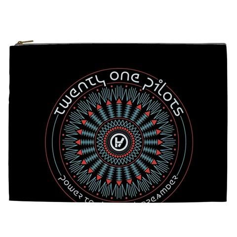 Twenty One Pilots Cosmetic Bag (XXL)