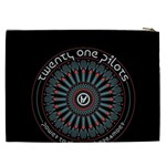 Twenty One Pilots Cosmetic Bag (XXL)  Back