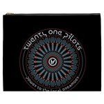 Twenty One Pilots Cosmetic Bag (XXXL)  Front
