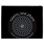 Twenty One Pilots Cosmetic Bag (XXXL)  Back