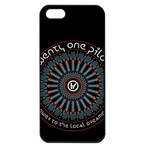 Twenty One Pilots Apple iPhone 5 Seamless Case (Black) Front