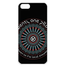 Twenty One Pilots Apple iPhone 5 Seamless Case (White)