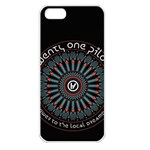 Twenty One Pilots Apple iPhone 5 Seamless Case (White) Front
