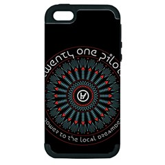 Twenty One Pilots Apple iPhone 5 Hardshell Case (PC+Silicone)
