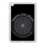 Twenty One Pilots Apple iPad Mini Case (White) Front