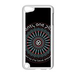 Twenty One Pilots Apple iPod Touch 5 Case (White) Front
