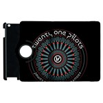 Twenty One Pilots Apple iPad 2 Flip 360 Case Front