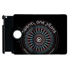 Twenty One Pilots Apple iPad 3/4 Flip 360 Case
