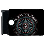 Twenty One Pilots Apple iPad 3/4 Flip 360 Case Front