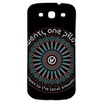 Twenty One Pilots Samsung Galaxy S3 S III Classic Hardshell Back Case Front