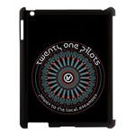 Twenty One Pilots Apple iPad 3/4 Case (Black) Front