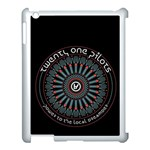 Twenty One Pilots Apple iPad 3/4 Case (White) Front