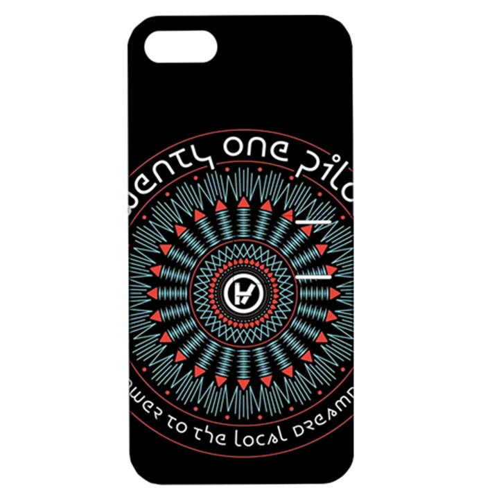 Twenty One Pilots Apple iPhone 5 Hardshell Case with Stand