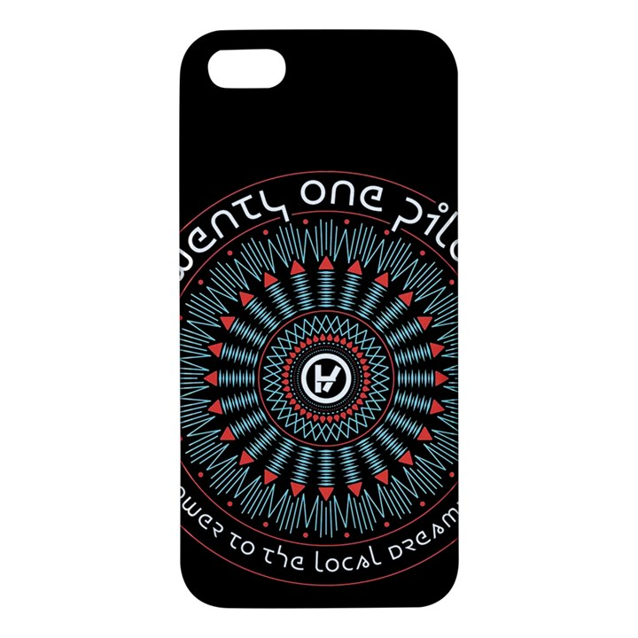 Twenty One Pilots Apple iPhone 5 Premium Hardshell Case