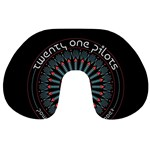 Twenty One Pilots Travel Neck Pillows Front