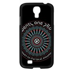 Twenty One Pilots Samsung Galaxy S4 I9500/ I9505 Case (Black) Front