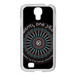 Twenty One Pilots Samsung GALAXY S4 I9500/ I9505 Case (White) Front