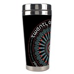 Twenty One Pilots Stainless Steel Travel Tumblers Left