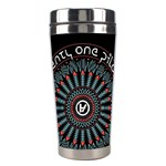 Twenty One Pilots Stainless Steel Travel Tumblers Center